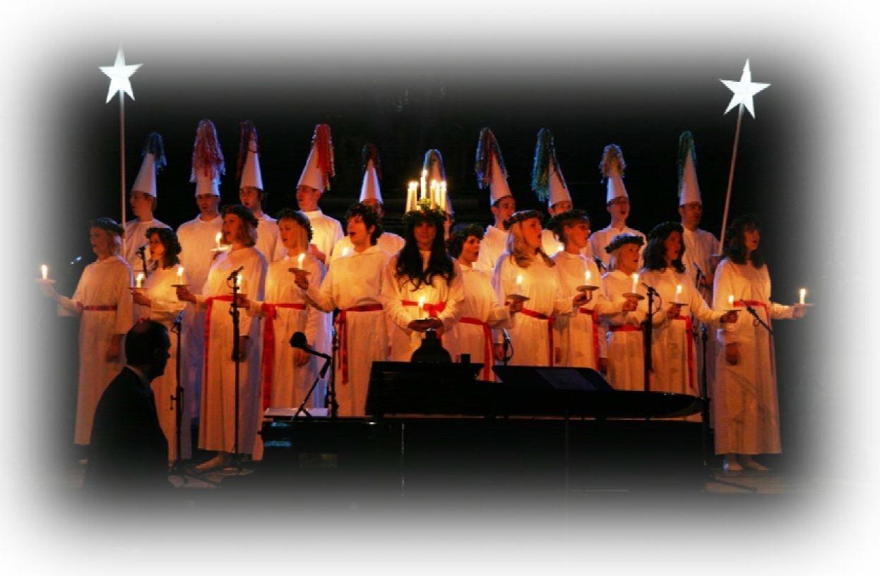 Luciakonsert i vackra Norrmalmskyrkan