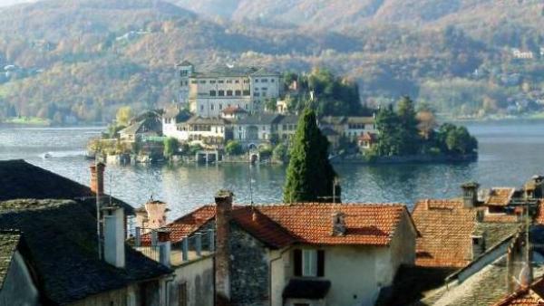 Italiens vackraste sjöar -