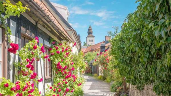 Upptäck Visby i sommar